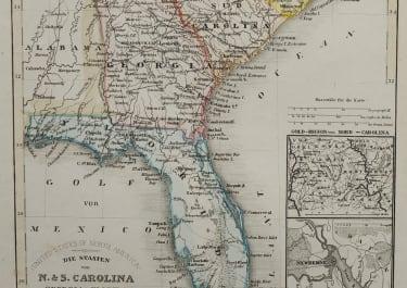 FLORIDA  THE CAROLINAS
