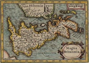 RARE BERTIUS OF BRITISH ISLES