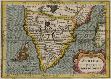 EARLY BERTIUS OF SOUTHERN AFRICA