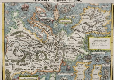 STUMPF'S RARE MAP OF EUROPE