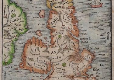MUNSTER  BRITISH ISLES  PTOLOMAIC
