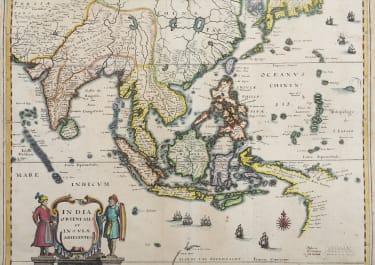 EAST INDIES   PAPUA AUSTRALIA   BY MERIAN 1640