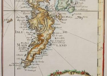 BELLIN  SCARCE MAP OF THE SHETLAND ISLES