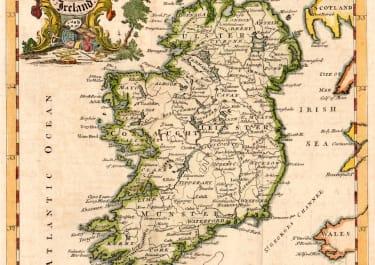 JEFFERYS MAP OF IRELAND