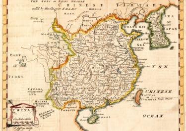 THOMAS JEFFERYS MAP OF CHINA