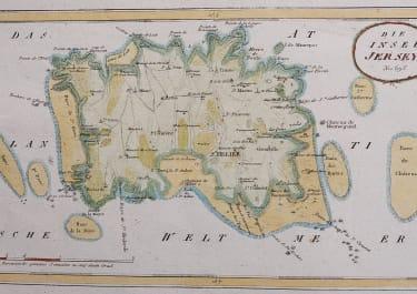 JERSEY   VON REILLY MAP