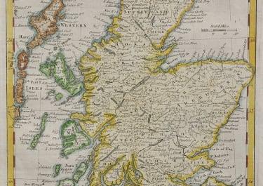 KITCHIN    MAP OF SCOTLAND