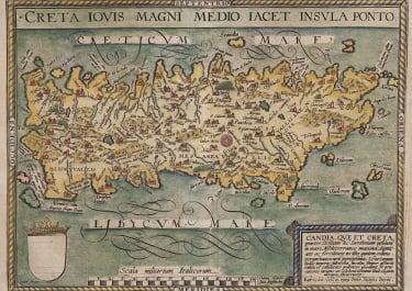 QUAD  CRETE VERY SCARCE MAP