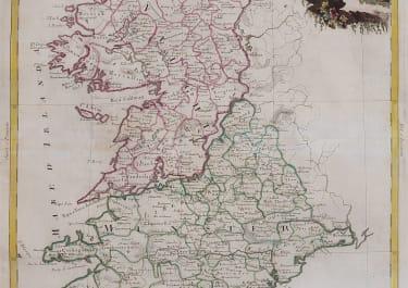 ZATTA MAP OF WEST COAST OF IRELAND