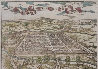 MUNSTER VIEW MAP OF CUSCO PERU