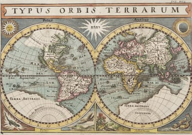MERIAN WORLD IN HEMISPHERES