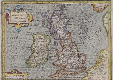 PURCHASE HONDIUS MAP OF BRITISH ISLES