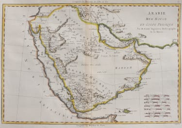 BONNE'S MAP OF ARABIA