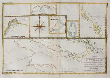 NEW GUINEA AND REGION CAPTAIN CARTERET 1780