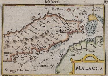 MALACCA SINGAPORE   LANGENES 1602