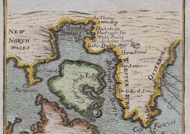 MALLET'S MAP OF GREENLAND