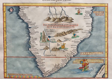 FRIES SOUTHERN AFRICA AFTER WALDSEEMULLER    1522  BUT  1541
