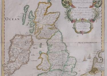 DUVAL FOLIO MAP OF BRITISH ISLES