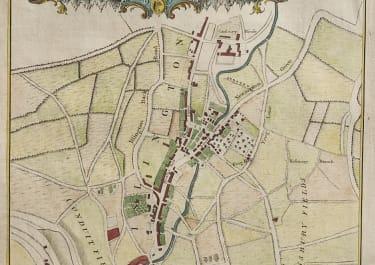 SCARCE COLE MAP OF HOLBORN &  ISLINGTON
