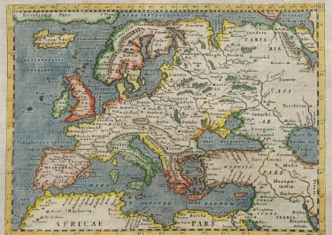 MAGINI MAP OF EUROPE 1620