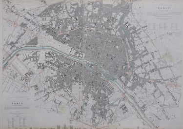 SDUK PLAN OF PARIS 1834