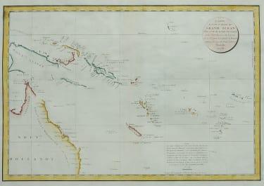 AUSTRALIA, NEW GUINEA, SOLOMAN ISLES ... LA PEROUSE 1781