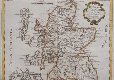 NOLIN'S MAP OF SCOTLAND  1791