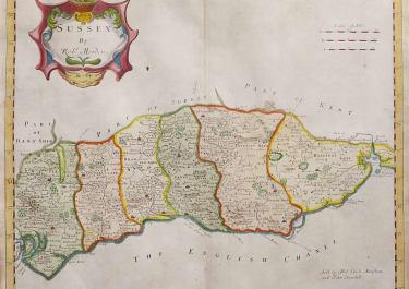 SUSSEX  MORDEN  1720