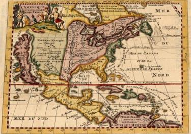 RARE NORTH AMERICA CALIFORNIA LARGE ISLAND 1706