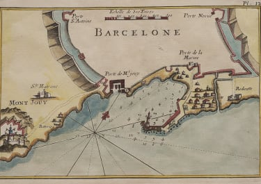 ROUX  CHART OF BARCELONA