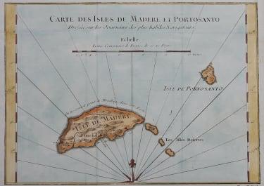 BELLIN MAP OF MADEIRA 1760