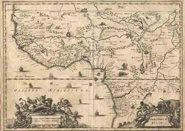 (WEST AFRICA)NIGRITARUM REGIO