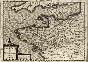 (BRITTANY NORMANDY)BRETANIA ET NORMANDIA
