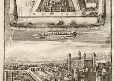 LONDON LA TOUR DE LONDRES