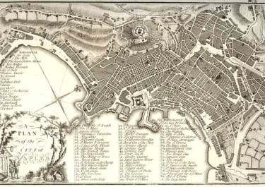 A PLAN OF THE CITY OF NAPLES