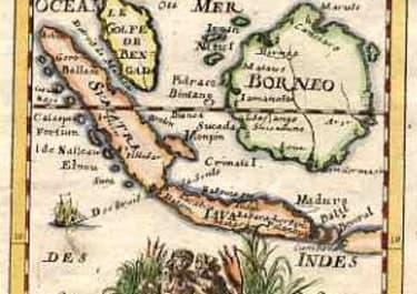 BORNEO ISLES DE LA SONDE VERS L'OCCIDENT