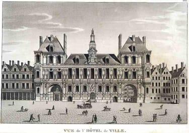 VUE DE L'HOTEL DE VILLE