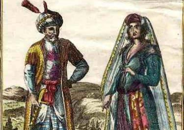 NATIONAL COSTUME PERSIANS PERSANS