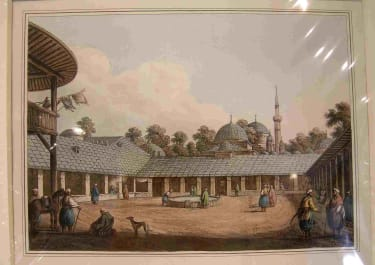 ORIENTALISM CARAVANSARY AT BORGAS