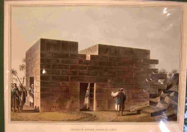ORIENTALISM TEMPLE OF JUPITER AMMON IN LIBYA