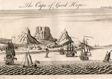 CAPETOWN THE CAPE OF GOOD HOPE