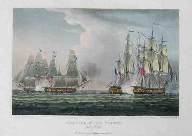 MARINE CAPTURE OF THE POMONE NOV 11th 1811