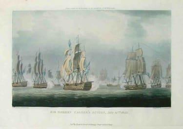 MARINE SIR ROBERT CALDERS ACTION JULY 22 1805