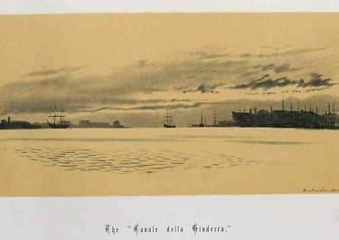 VENICE THE 'CANALE DELLA GINDERRA'