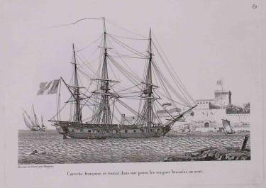 MARINE CORVETTE FRANCAISE