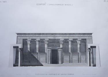 EGYPT   EDFOU  APOLLINOPOLIS MAGNA