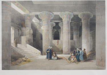 TEMPLE OF ESNEH  ..  DAVID ROBERTS