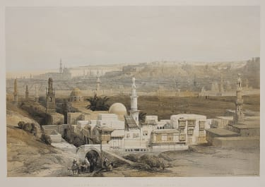 CAIRO FROM THE GATE OF THE CITIZENS..    DAVID ROBERTS
