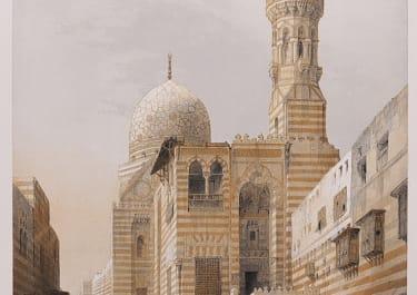 TOMBS OF THE KALIPHS  CAIRO   .. DAVID ROBERTS