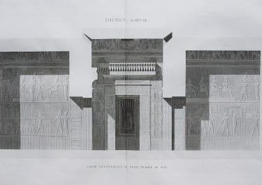 EGYPT THEBES KARNAK .. TEMPLE DU SUD